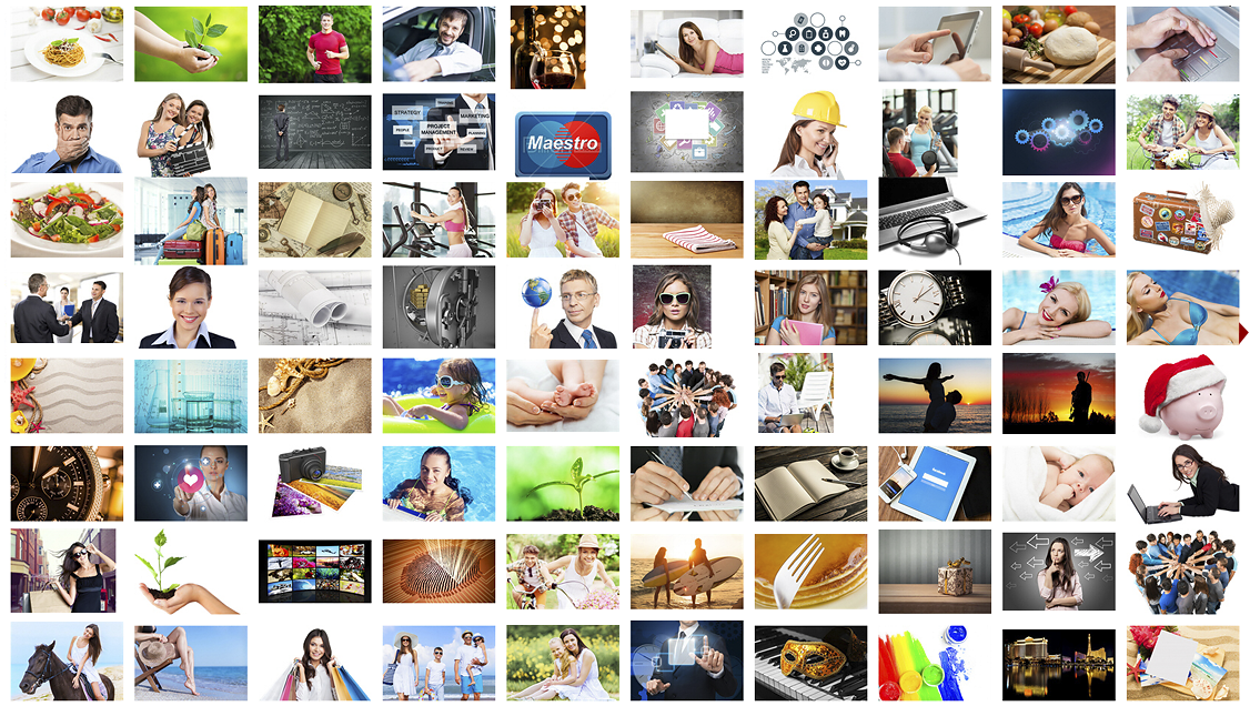 Get Stock images with Nicepage