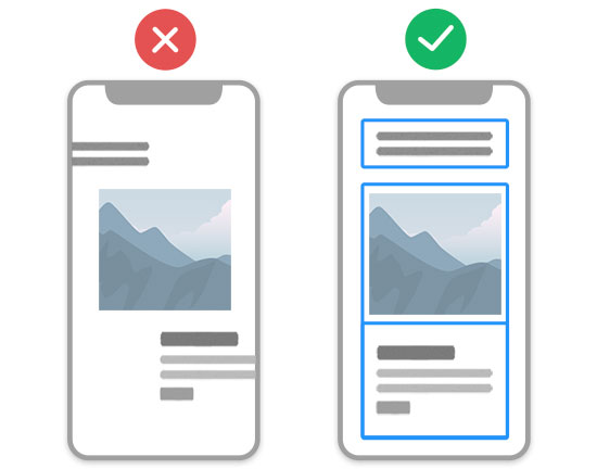 Containers and Grids are mobile-friendly