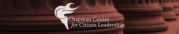 Chapman Center for Citizen Leadership Header Image