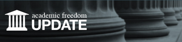 Academic Freedom Update Header Image