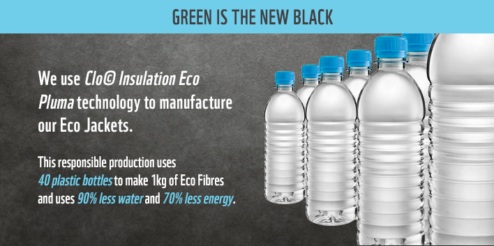 WWF K-Way Eco Jackets: Green is the new black