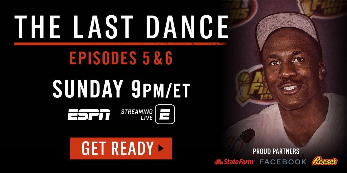 The Last Dance - Episodes 5 & 6 - Sunday 9PM/ET