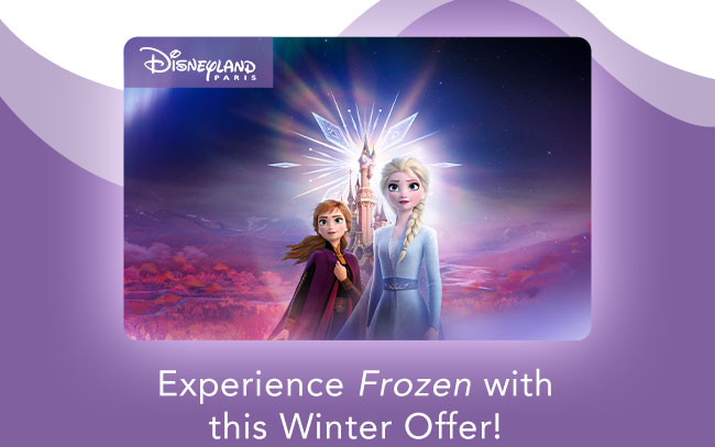 Experience Frozen with this Winter Offer!