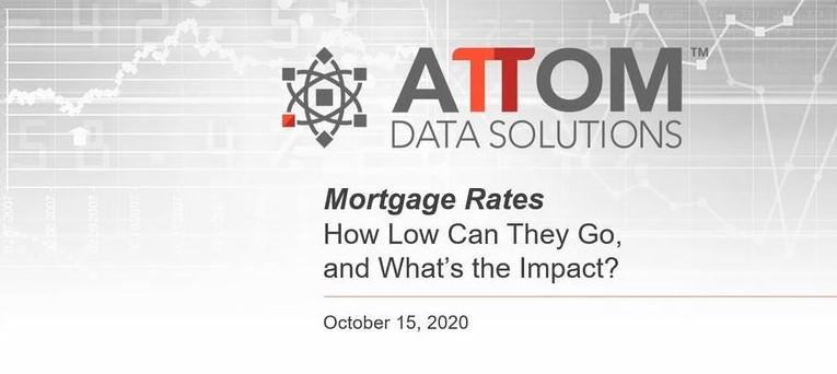 Mortgage Rates Webinar Recording