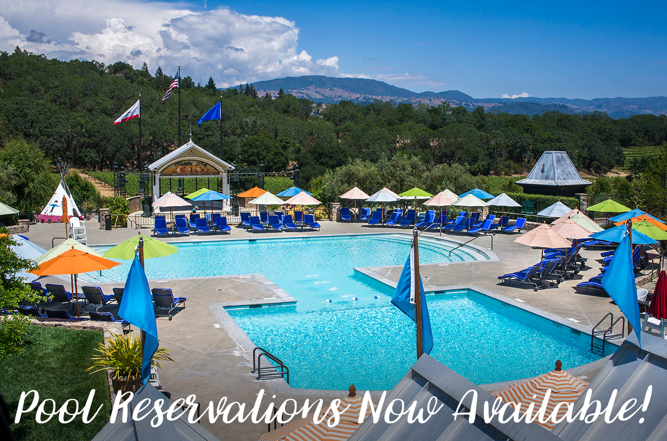 Pool Reservations Now Available!