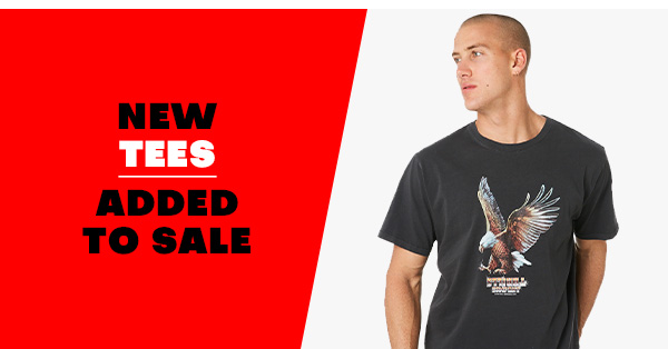 New Tees added to sale