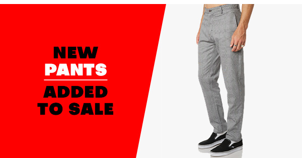 New Pants added to sale