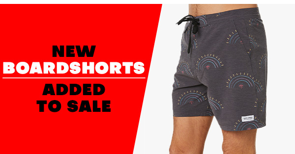 New Boardshorts added to sale