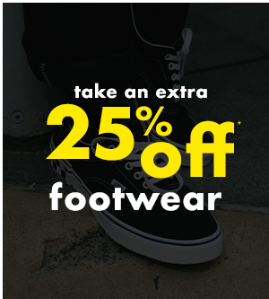 20 percent off footwear