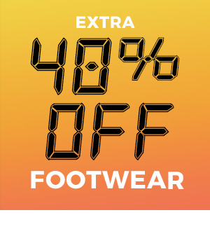 Extra 40% off Footwear