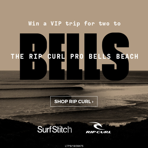 Win a VIP trip for two to the Rip Curl Pro Bells Beach. Shop Rip Curl.