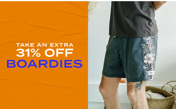 Take an extra 31 percent off shorts