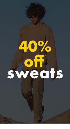 40 percent off Sweats