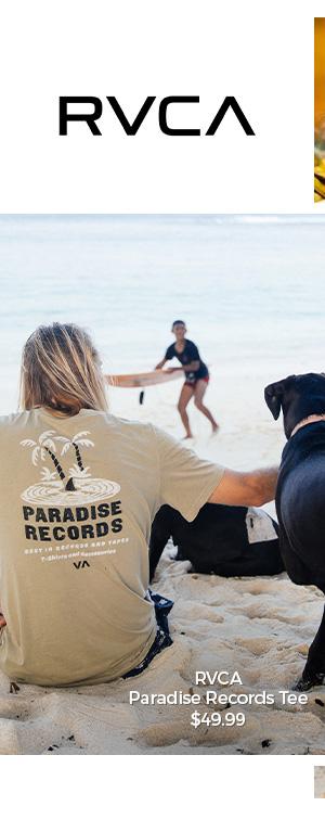 RVCA Paradise Records Tee