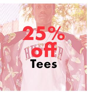 25% off Tees
