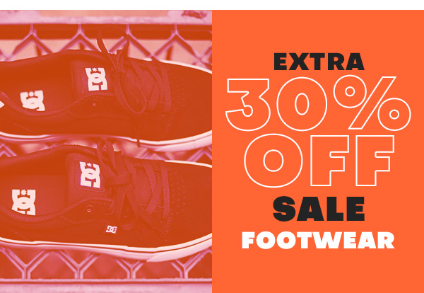Extra 30 percent off sale FOOTWEAR