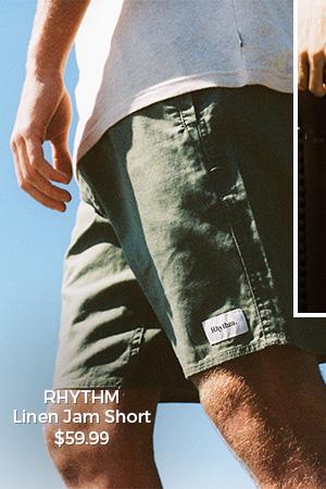 Rhythm Linen Jam Short