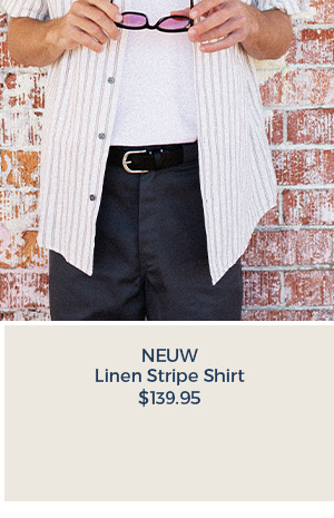 Neuw Linen Stripe Short