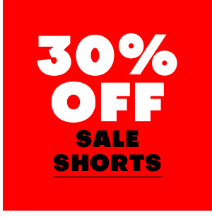 30% off sale Shorts