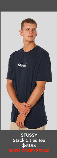 Stussy Stack Cities Tee