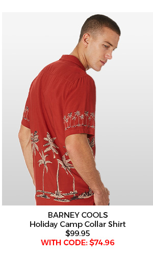 Barney Cools Camp Collar Shirt
