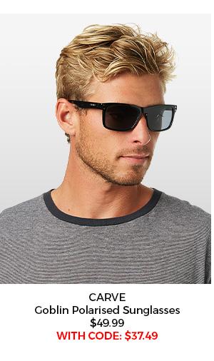 Carve Goblin Polarised Sunglasses
