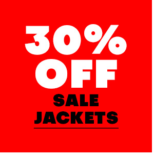 30% off sale Jackets
