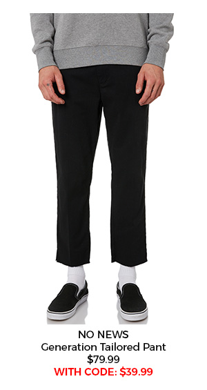 No News Generation Tailored Pant