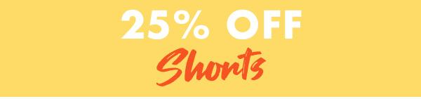 25 percent off Skirts