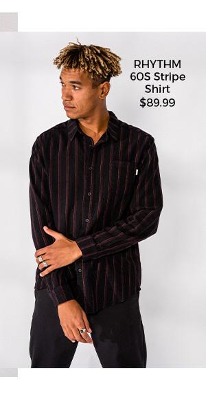 Rhythm 60S Stripe Shirt