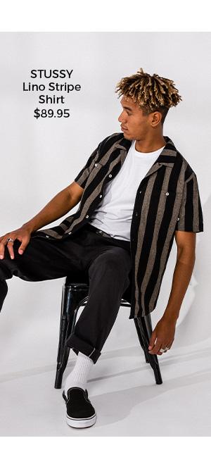 Stussy Lino Stripe Shirt