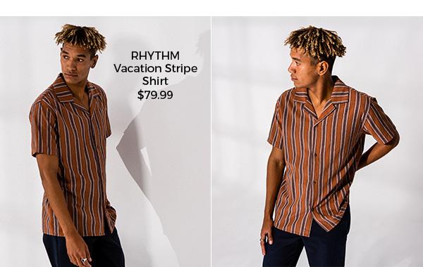 Rhythm Vacation Stripe Shirt