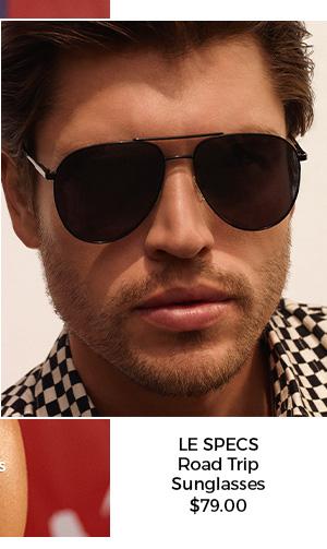 Le Specs Road Trip Sunglasses