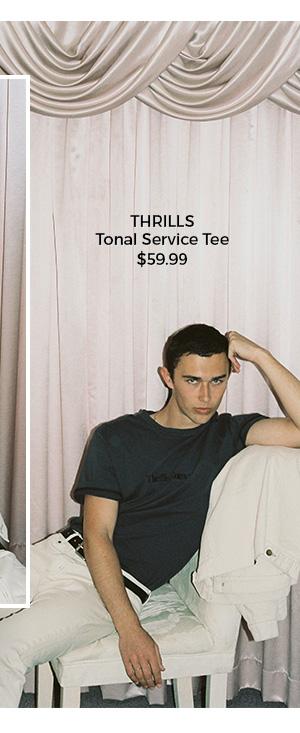 Thrills Tonal Service Tee