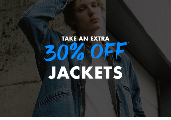 Take an extra 30 percent off Jackets
