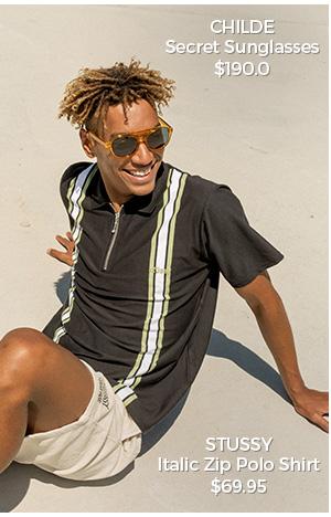 Childe Sunglasses, Stussy Shirt