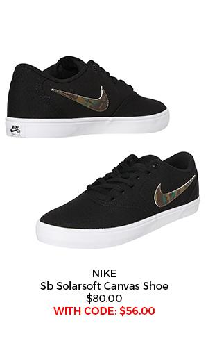 Nike SB Solarsoft Canvas Shoe