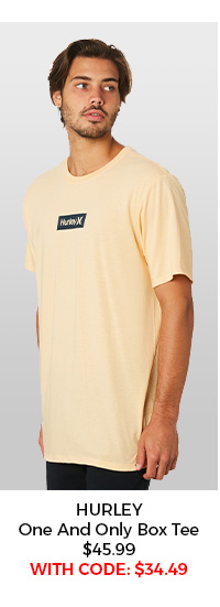 Hurley One And Only Small Box Tee