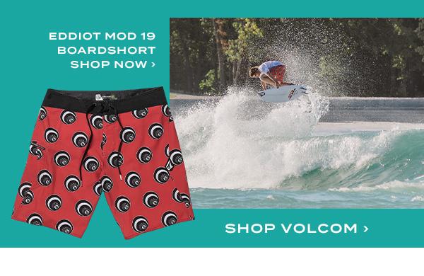 Eddiot Mod 19 Boardshort. Shop Volcom