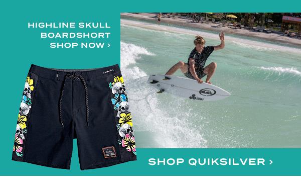 Highline Skull Boardshort. Shop Quiksilver