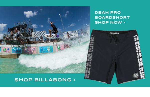 DBAH Pro Boardshort. Shop Billabong
