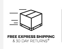 Free Express Shipping and 30 Day Returns#