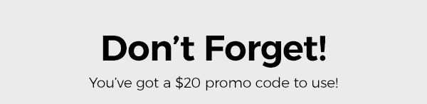 Spend over $100 on full price items and apply your promo code at checkout*. Shop Now.