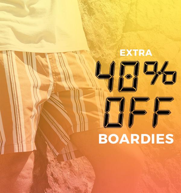 Extra 40 percent off Boardies