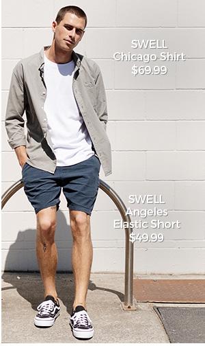 SWELL Chicago Shirt & Angeles Short
