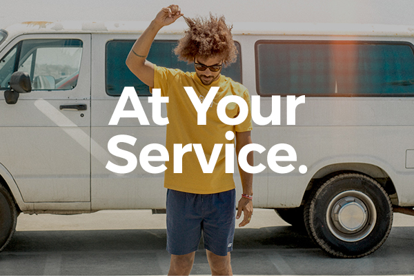 At Your Service.