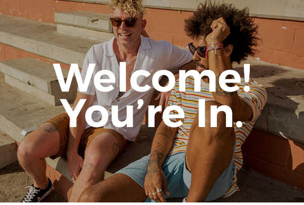 Welcome! You're In.