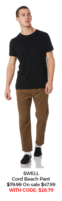 SWELL Cord Pant