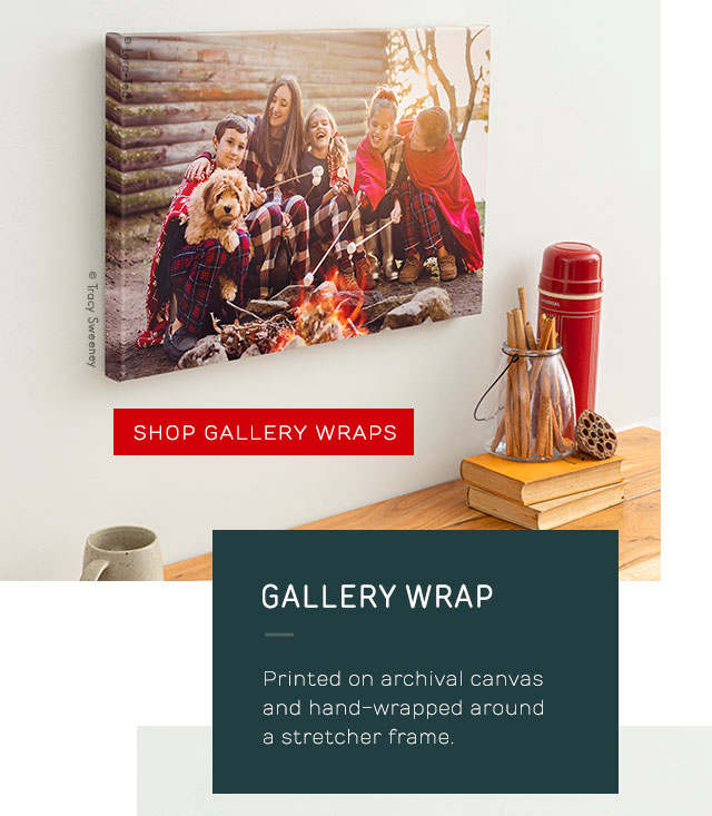 Gallery Wraps Graphic