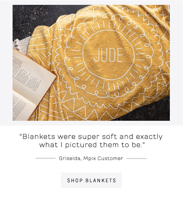 Personalized Blankets Graphic